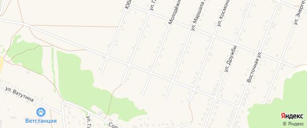 Молодежная улица на карте села Ермолаево с номерами домов