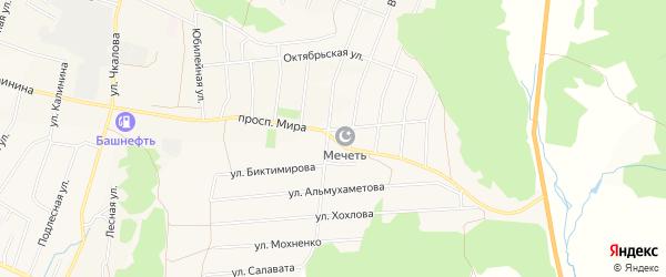 Территория Для размещения подъездных путей на карте проспекта Миры с номерами домов