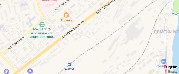 Локомотивная улица на карте Уфы с номерами домов