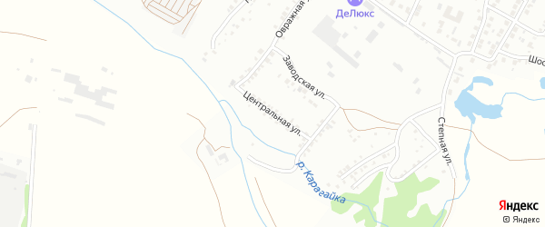 Центральная улица на карте Кумертау с номерами домов