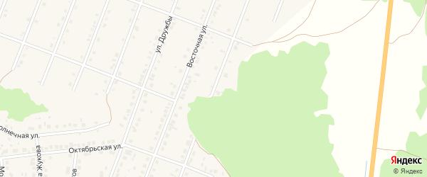 Улица Энергетиков на карте села Ермолаево с номерами домов