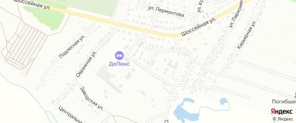 Массив 10 Апрельская улица на карте Кумертау с номерами домов