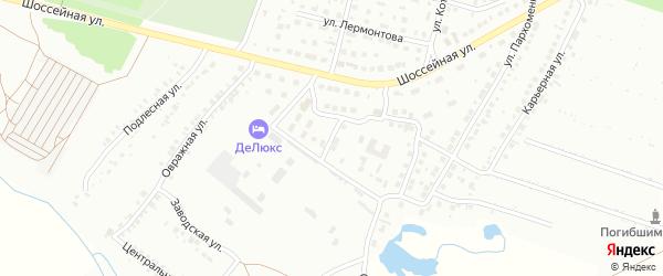 Апрельская улица на карте Кумертау с номерами домов