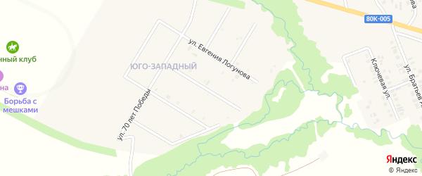Улица Братьев Шайхаттаровых на карте села Верхние Татышлы с номерами домов