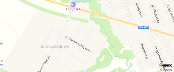 Улица Айдара Лутфуллина на карте села Верхние Татышлы с номерами домов