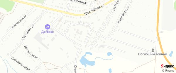 Клубная улица на карте Кумертау с номерами домов