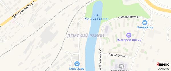 Улица Кордон 3 (Демский район) на карте Уфы с номерами домов