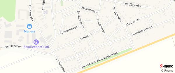 Вишневая улица на карте села Нижегородки с номерами домов