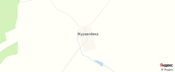 Карта деревни Журавлевки в Башкортостане с улицами и номерами домов