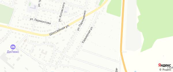 Карьерная улица на карте Кумертау с номерами домов