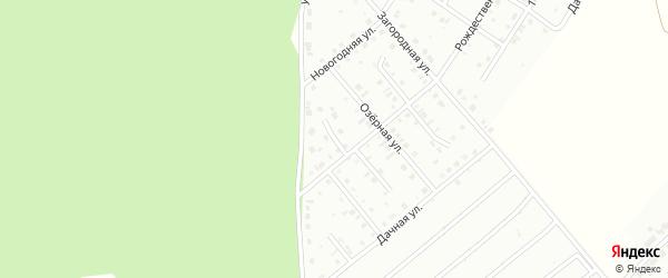 Рождественский 1-й переулок на карте Кумертау с номерами домов