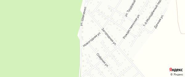 Новогодняя улица на карте Кумертау с номерами домов