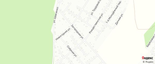 Загородная улица на карте Кумертау с номерами домов