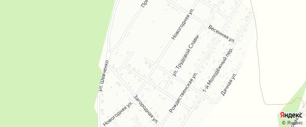 Рябиновая улица на карте Кумертау с номерами домов