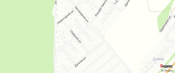 Рождественский 4-й переулок на карте Кумертау с номерами домов