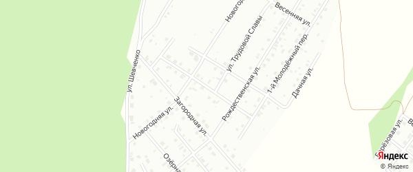 Молодежная улица на карте Кумертау с номерами домов