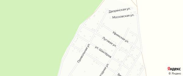 Привольная улица на карте Кумертау с номерами домов