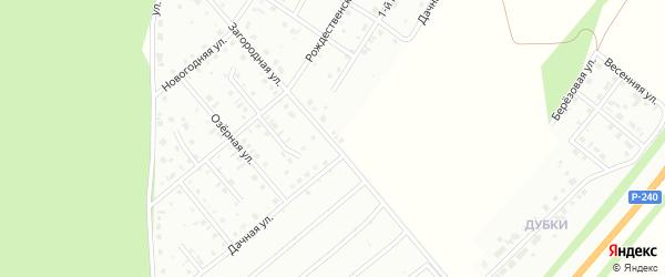 Дачная улица на карте Кумертау с номерами домов