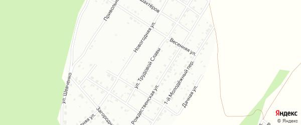 Улица Трудовой славы на карте Кумертау с номерами домов
