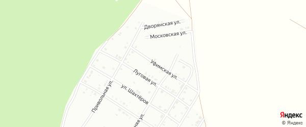 Уфимская улица на карте Кумертау с номерами домов