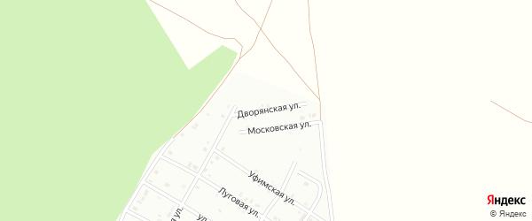 Дворянская улица на карте Кумертау с номерами домов