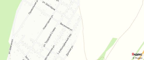 Весенняя улица на карте Кумертау с номерами домов