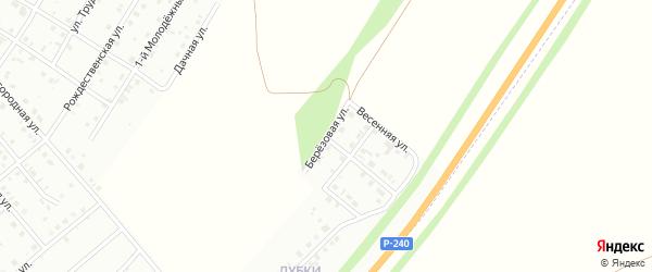 Березовая улица на карте Кумертау с номерами домов