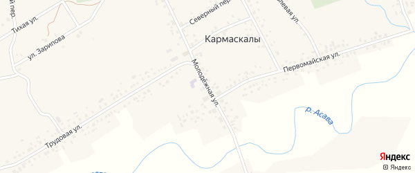 Молодежная улица на карте Стерлитамака с номерами домов