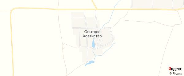 Карта деревни Опытного хозяйства в Башкортостане с улицами и номерами домов