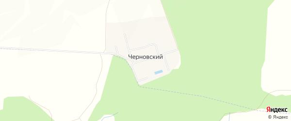Карта деревни Черновского в Башкортостане с улицами и номерами домов