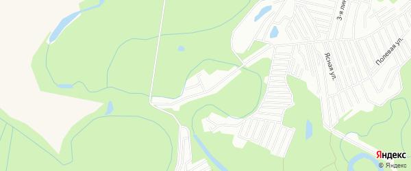 СНТ Здоровье на карте Чишминского района с номерами домов