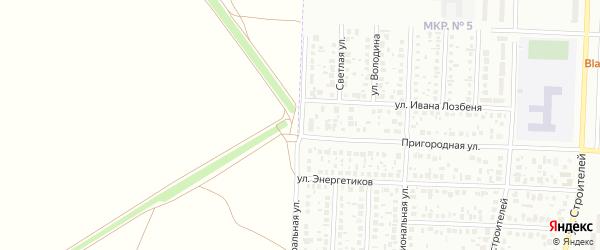 Магистральная улица на карте Стерлитамака с номерами домов