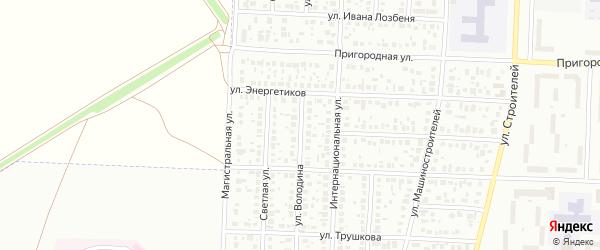 Улица Володина на карте Стерлитамака с номерами домов