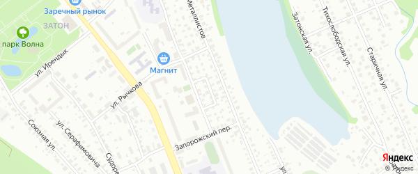Переулок Шмидта на карте Уфы с номерами домов