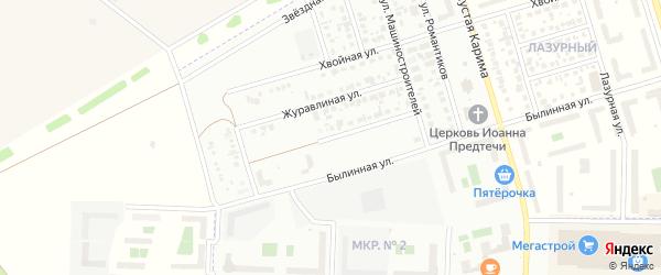 Новосельская улица на карте Стерлитамака с номерами домов