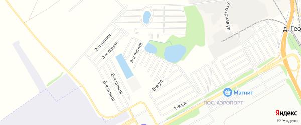 СНТ За здоровый отдых на карте Уфимского района с номерами домов