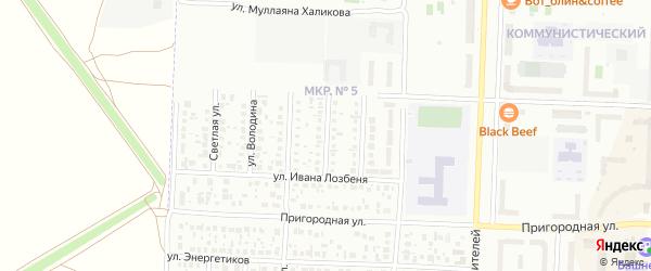 Улица Григория Рутмана на карте Стерлитамака с номерами домов
