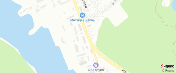 Улица Ахметова на карте Уфы с номерами домов