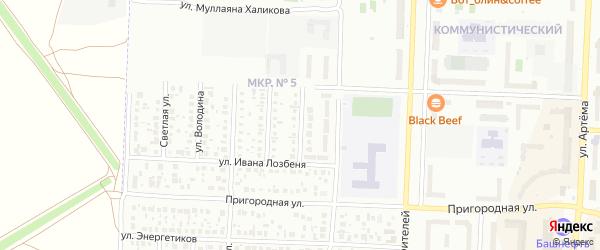 Улица Владимира Секина на карте Стерлитамака с номерами домов