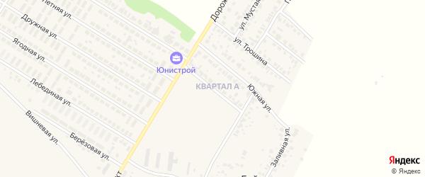 Габдуллы Тукая улица на карте деревни Байрака с номерами домов