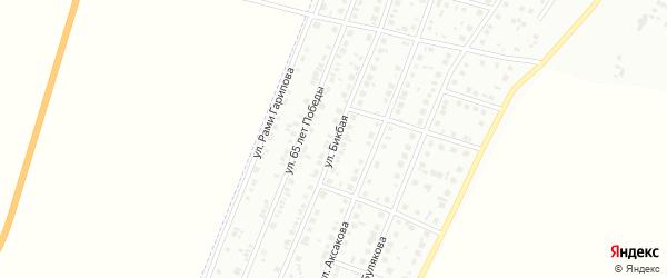 Бикбая улица на карте Мелеуза с номерами домов