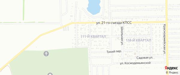 Спортивная улица на карте Салавата с номерами домов