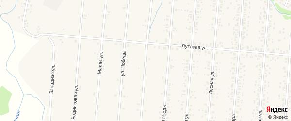 Улица Дружбы Народов на карте села Старобалтачево с номерами домов