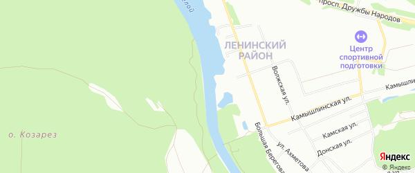 СНТ Парашютист на карте Ленинского района с номерами домов