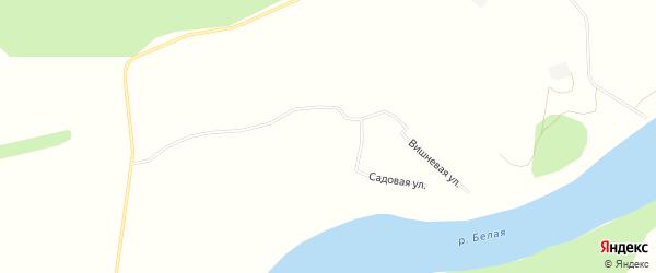 СНТ Здоровье на карте Уфимского района с номерами домов