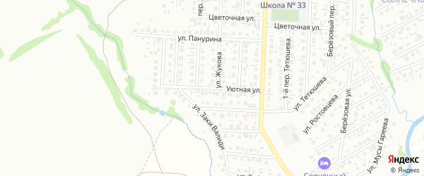 Уютная улица на карте Стерлитамака с номерами домов