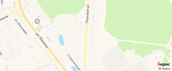 Парковая улица на карте села Толбазы с номерами домов