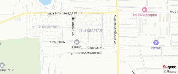 Улица Гайдара на карте Салавата с номерами домов
