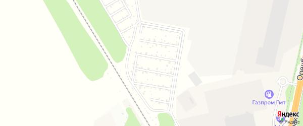 СНТ Радуга на карте Октябрьского с номерами домов
