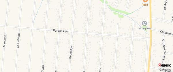 Улица Мира на карте села Старобалтачево с номерами домов